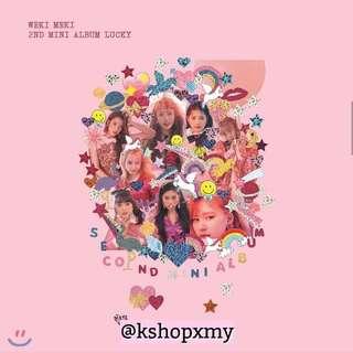 Weki Meki 2nd Mini Album - ' Lucky '