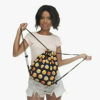 (Ready to ship) EMOJI STRING BAG