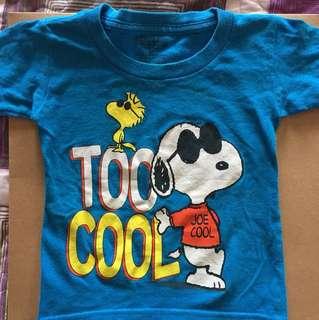 Snoopy Peanuts tshirt slim cut