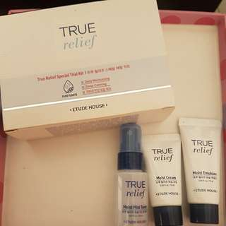 True Relief Special Trial Kit (Toner, Emulsion & Cream)