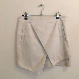 Mossman asymmetric skirt