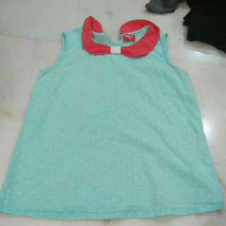 Girl sleevesless  top