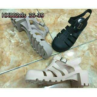 Jelly wedges bara bara shoes import