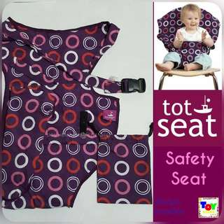 Tot Seat Safety Seat Violet and Circle