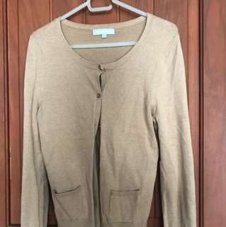 Debenhams Redherring Brown Cardigan