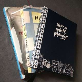 Young Adult Planner 2018 (navy blue)