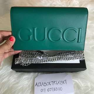 Customer's purchased, Gucci WOC