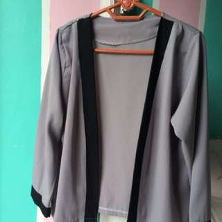 Gray Outer ( Semi Blazer )