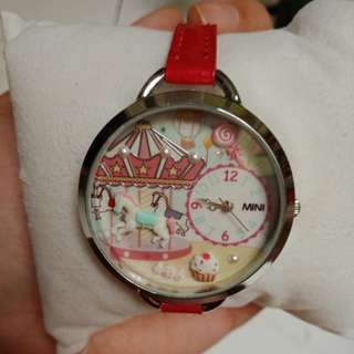 MINI Miniature Clay 3D watch korean