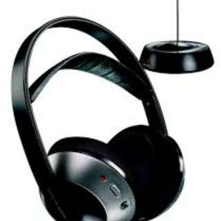PHILIPS SBC HC8442 wireless hi-fi headphones