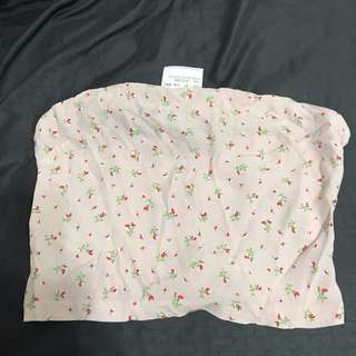 NWT Brandy Melville Pink Floral Jenny Tube Top