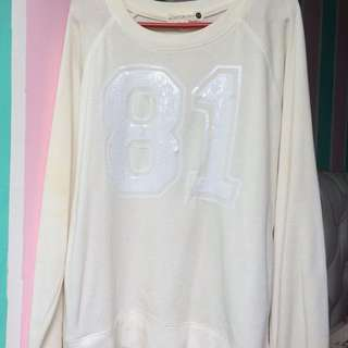 White 81 sweater
