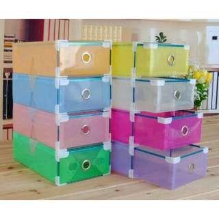 Kotak Sepatu Transparan Gen 3 Shoes Box