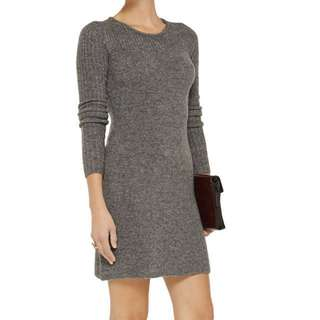 Isabel Marant etoile wool blend blue dress