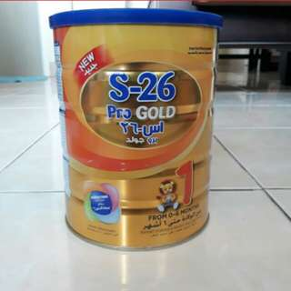UNRESERVED S-26 PRO GOLD 0-6 MONTHS