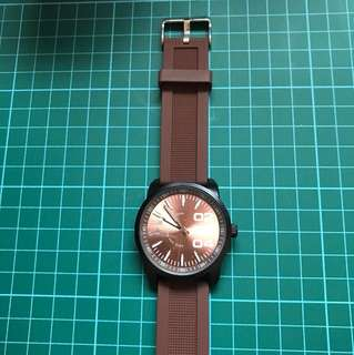 Polo Club Watch (Unisex/Brown)