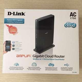 D-Link Wireless AC 1750 Dual Band Cloud Router (DIR-865L)