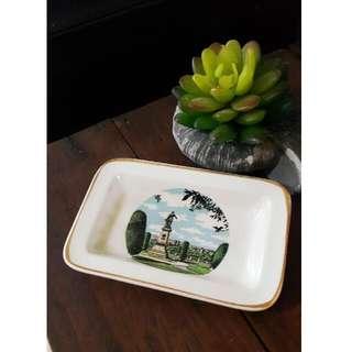 Vintage Porcelain Souvenir Plate