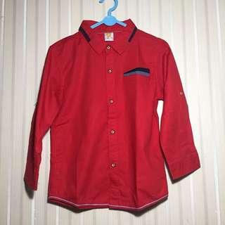 Kemeja Merah Little M