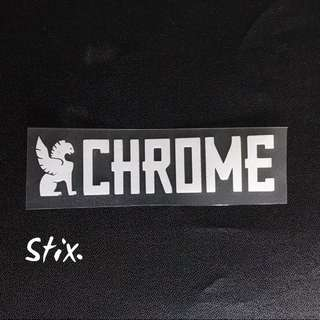Chrome Vinyl Cut Sticker