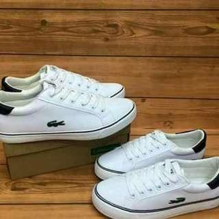 Lacoste couple shoes