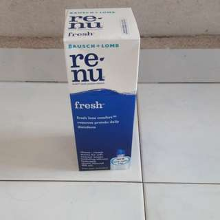 Baush and Lomb Contact Lens Solution