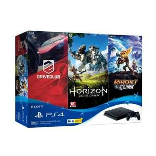 Kredit Sony PS 4 Bundling 3 Game