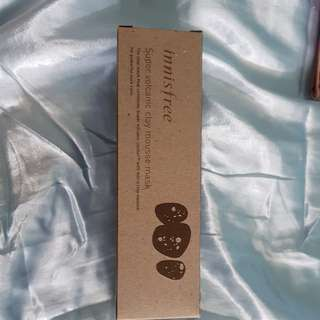 Innisfree super volcsnic clay mousse mask 100ml