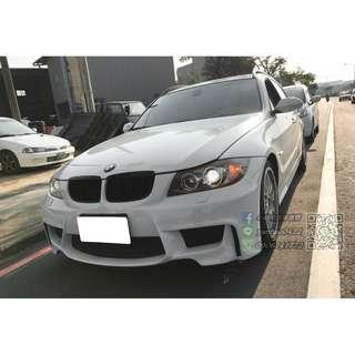 BMW 06年E91 325I 白