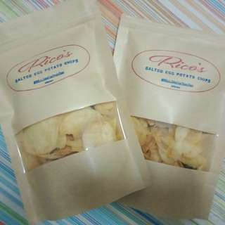 Rico's Salted Egg Potato Chips