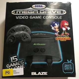 Sega Mega Drive Video Game Console 15 Games In One