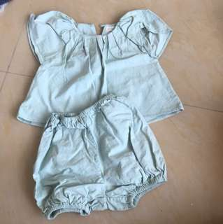 Preloved baby set