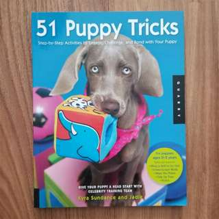 51 Puppy Tricks Book