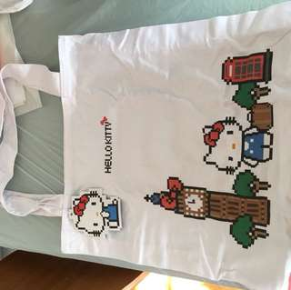 Hello Kitty 環保袋及水樽
