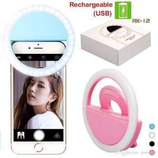 Selfie Ring Light LED (Rechargeable)
