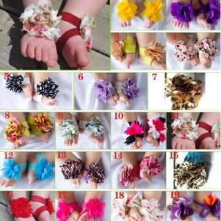 Baby Flower Shoes Infant Accesories