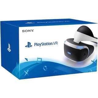 Playstation VR + Move Controller, Camera & Games