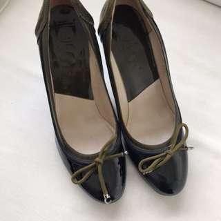 used once AUTHENTIC christian dior pumps - 35.5 - fits 5-5.5