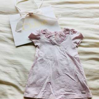 $450 for 4 pcs of Chloe: baby girl clothes