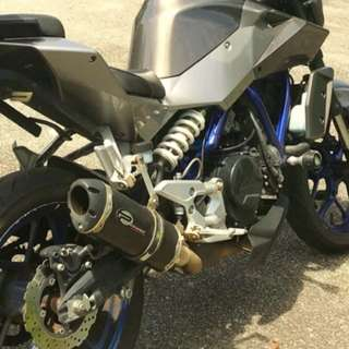 exhaust muffler Proformance Carbon Original