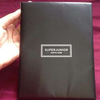 Super Junior Official Photocards