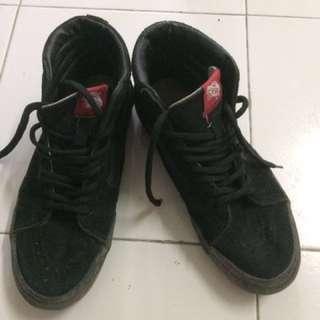 vans sneaker all black sk8 hii