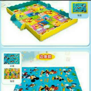 Disney baby thick DOUBLE SIDE crawl mat