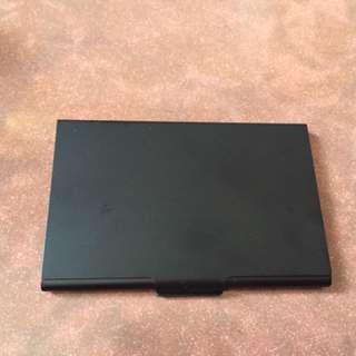黑色卡片盒