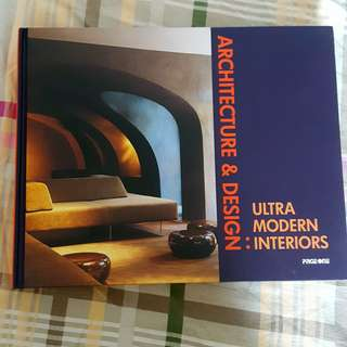 Architecture & Design: Ultramodern Interiors