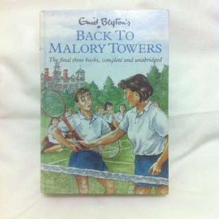 Enid Blyton - Back to Malory Towers - The Final Three Books