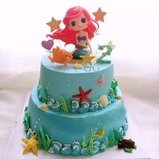 Little Mermaid Cake Topper - JHT870