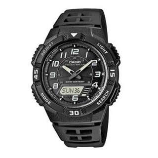 Brand New Auth Casio Analog/Digital Solar Men's Watch