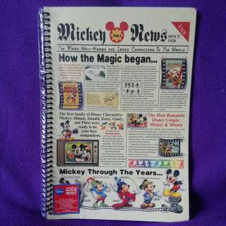DISNEY MICKEY NOTEBOOK 26x18cm 96pages
