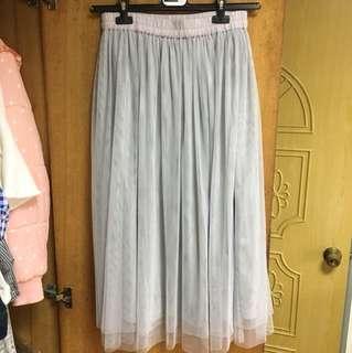 🚚 ✨現貨✨灰紗裙